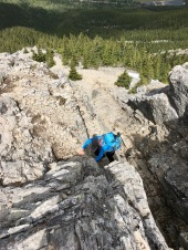 Climbing crux #2.