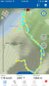 Fairview Mountain Trail Map